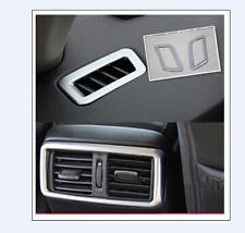 Matt Interior Air Vent Frame Cover Trim 3pcs for Nissan Rogue X-Trail 2014-2017