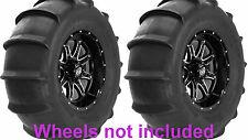 (2) New STI 28x13-14 Sand Drifter Rear ATV/UTV/SXS Paddle Sand Tires