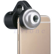 30X Zoom Cell Phone Telescope Camera LED Microscope Lens For iPhone 7 Samsung LG
