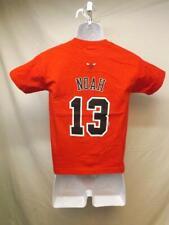 New-Minor Flaw Chicago Bulls Joakim Noah Adidas Youth Size Small S 8 Red Shirt