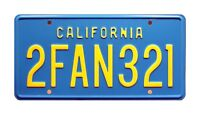 Big Trouble in Little China | 2FAN321 | Metal Stamped Replica Prop License Plate