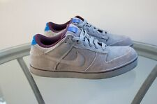 RARE Nike 6.0 Dunk SE Holiday 2010 Colorways Light Charcoal-Blue Sapphire Size 8