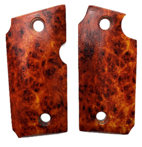 Grips For Sig Sauer P238 HD/UV Amboyna Burl book ends grips New ^