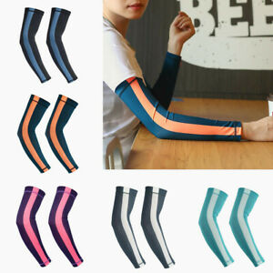 Outdoor Sport Sunscreen Sleeves Cover Hand Arm Elbow Protector Gear Long Sleeves