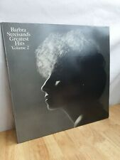 Barbara Streisand Greatest Hits Vol 2 12 Inch Vinyl Record Album