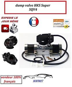 dump valve blow off turbo essence type HKS SQV4 diamètre 80 mm