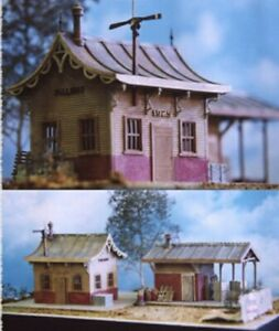 Model Tech Studios O Scale Kit S0051 Station And Freight Depot Kit
