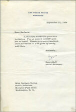 BESS ABELL - TYPED LETTER SIGNED 09/25/1964