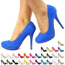Fiore Women's Court Synthetic Heels for Women