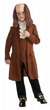 Ben Franklin John Adams Colonial Deluxe Costume Patriotic Child Size Md 8-10