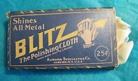 Blitz The Polishing Cloth Shines All Metal Vintage 1920's Original Works Great