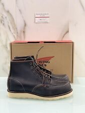 Red Wing 6 Moc Black 08849 In Pelle Icon Red Wing Boot 43