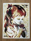 Shepard Fairey Signed WAR BY NUMBERS Gold 2007 - RARE OBEY GIANT Print NM/M