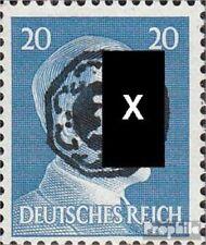 Löbau (Sachsen) 13ND Neudruck Echtheit nicht geprüft mit Falz 1945 Lokaler Überd