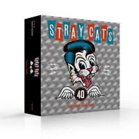 STRAY CATS - 40 (LIMITED CD DELUXE EDITION+BONUSTRACKS+  CD+MERCHANDISING NEUF