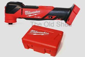 NEW 2021 Milwaukee M18FMT-0 18V Cordless Brushless M18 FUEL Multi Tool - Skin
