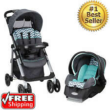 Baby Travel System Stroller Car Seat For Boys Toddler Infant Carriage Set 3 in 1