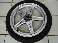 wb1. Honda FT 500 PC07 Rim Front Front Wheel 2,15 x 19 inch + TYRES METZELER