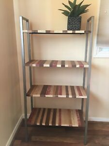 Bookshelf - Hand built using scrap wood from reclaimed projects