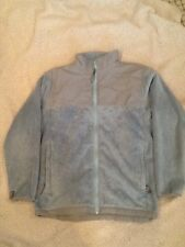 THE NORTH FACE GIRLS DENALI THERMAL FLEECE JACKET SizeXL SPARROW BLUE with hat