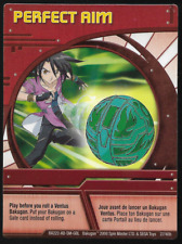 Bakugan Battle Brawlers Ability Card Perfect Aim BA222-AB-SM-GBL 27/48b