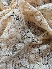 A1 Antique Lace Salvage Authentic Sewing Crafters Projects Dolls Clothing
