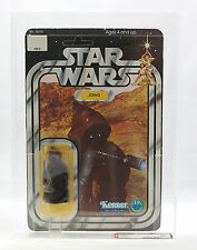 Vintage Star Wars Jawa 20 Back A AFA 80 Straight 80s UP MOC Kenner
