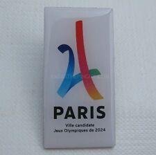 2024 Paris Olympic Candidate City Bid Pin #3 No Rings