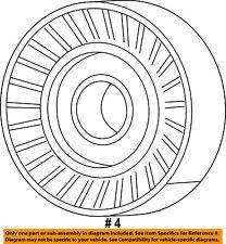 CHRYSLER OEM-Serpentine Drive Belt Idler Pulley 4891720AA