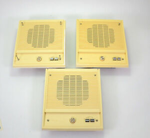 "3 Nutone Scovill Intercom Speaker w/ Mounting Brace C-36089 10""x11"""