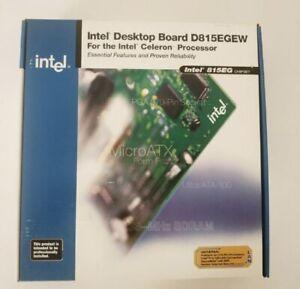 NEW OLD STOCK!! Intel D815EGEW Chipset 815EG Socket 370 mATX Desktop Motherboard
