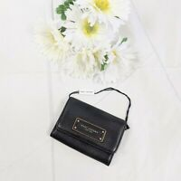 Marc Jacobs New York Black w/ Gold Small Snap Wallet