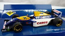 Detailed GRAND PRIX '93 1:18 Williams Renault FW15 Alain Prost Formula 1 Toy Car