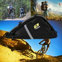 Waterproof Bike Front Top Tube Triangle Frame Bag Saddle Pouch Storage Case