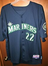 Majestic Authentic Cool Base Seattle Mariners Robinson Cano MLB Jersey Size 56