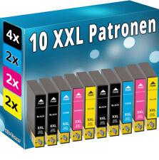 10x TINTE PATRONEN für Epson Expression XP-5100 XP-5105 WF-2860-DWF WF-2865-DWF