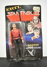 Star Trek III ~ Scotty Action Figure 333 ~ Ertl  ~ Unpunched ~ Sealed ~ 1984