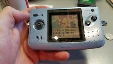 SNK NEO GEO Pocket Color system with 7 games Turf Masters, Metal slug 2nd +more!