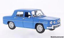 Renault R8 Gordini - hellblau /weiss - 1:24 WELLY