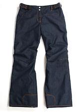 PHENIX wmn Waterproof Insulated Ski/Snow Denim Pants Jeans Style, US 12/EU 42