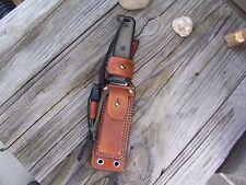 Ontario Knives Blackbird SK-5 Knife LF Custom Leather Survivor Sheath (N)