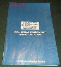 Toyota 7fbcu 15 18 20 25 30 32 30 7fbcu 7fbchu25 Forklift Parts Manual Book