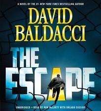 David Baldacci THE ESCAPE Unabridged CD *NEW* FAST Ship!