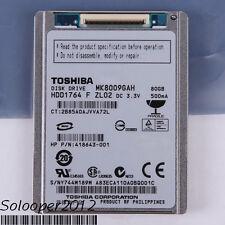"Free shiping TOSHIBA 80 GB HDD 1.8"" 8MB 4200RPM MK8009GAH CE ZIP Hard Disk Drive"