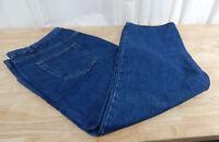 NWT Men's Kirkland Signature Authentic Relaxed Fit 5 Pocket Blue Jeans