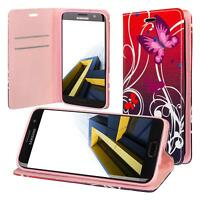 Samsung Galaxy S7 Edge G935 Cartera Funda Cover Flip Wallet Case bolsa Mariposa