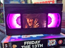 Freddy Kruegar VHS Night Light, Desk Lamp, Led, Film, Horror, Bedroom Lamp, Kids