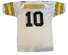 Vintage 90's Starter Kordell Stewart Pittsburgh Steelers White Football Jersey