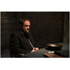 Supernatural Mark Sheppard As Crowley Sitting At Table 8 x 10 Inch Photo
