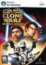 JEUX ORDINATEUR PC LA GUERRE DES ETOILES: The clone wars republic heroes neuf